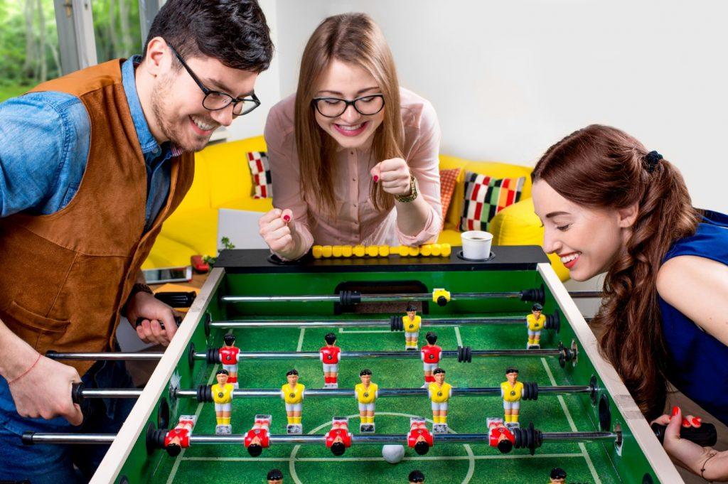 team work di perlukan di dalam game